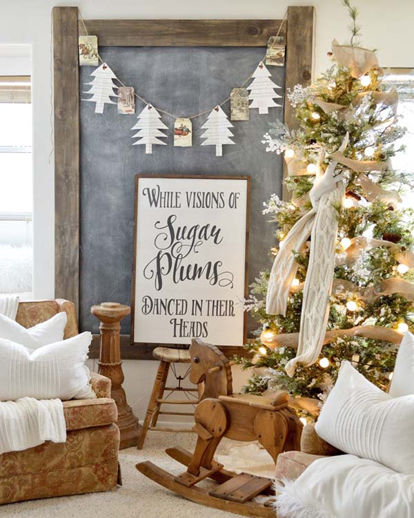 ultimate christmas decoration christmas vintage sign momooze.com online magazine for modern moms