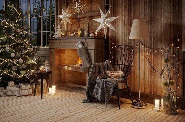 ultimate christmas decoration cozy fireplace decor momooze.com online magazine for modern moms