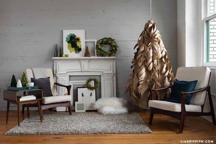 ultimate christmas decoration diy paper christmas tree momooze.com online magazine for modern moms