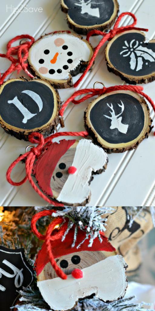 ultimate christmas decoration diy wood ornaments momooze.com online magazine for modern moms