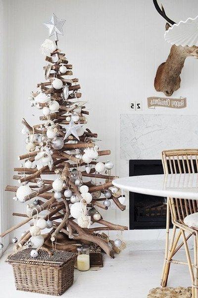 ultimate christmas decoration nordic style stick tree momooze.com online magazine for modern moms