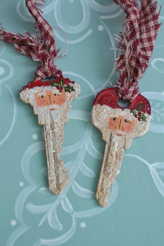 ultimate christmas decoration santa claus DIY keys momooze.com online magazine for modern moms