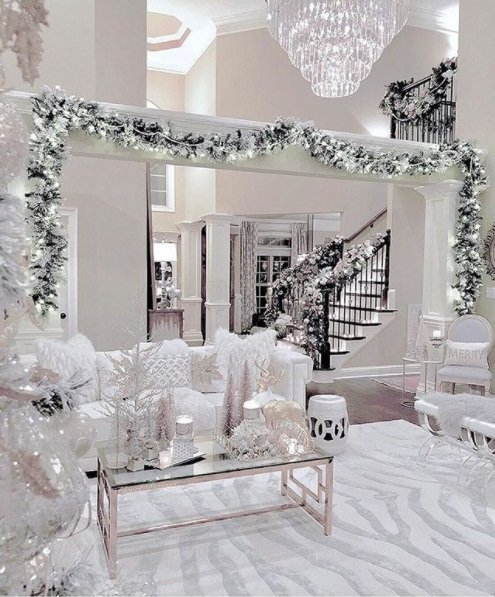 ultimate christmas decoration white glamorous christmas decor momooze.com online magazine for modern moms