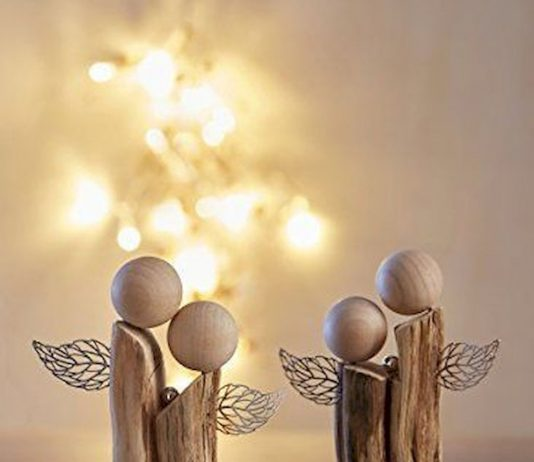 ultimate christmas decoration wooden angel ornaments momooze.com online magazine for modern moms