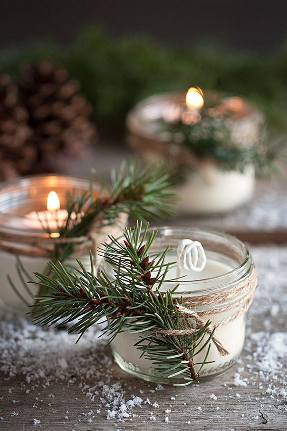 ultimate winter wedding inspiration pine scented candles momooze.com online magazine for moms
