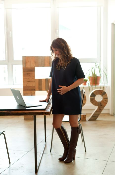 winter maternity outfits maternity office style momooze.com online magazine for moms