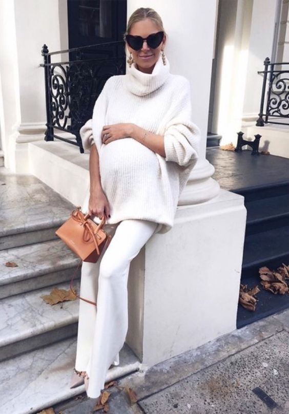30 Show Stopping Maternity Outfits For This Winter