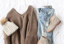 winter staples winter pullover jeans momooze.com online magazine for moms